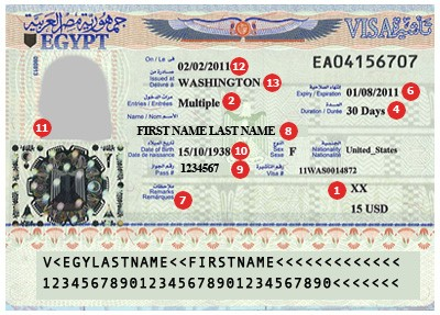 View Samples Of Travel Visas Cibtvisas Uk